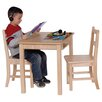 Steffy Wood Products Kids Rectangular Table