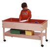 Steffy Wood Products Sand and Water Table with Shelf