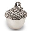 Star Home Harvest Covered Acorn Candy Bowl