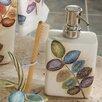 Croscill Home Fashions Mosaic Leaves Soap Dispenser