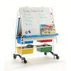 Copernicus Marker Tray Magnetic Double Sided Casters Board Easel