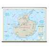 Universal Map Primary Wall Map - Antarctica