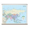 Universal Map Primary Wall Map - Asia
