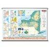 Universal Map Intermediate Thematic Wall Map - New York