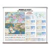Universal Map Large Scale Wall Map - Middle East