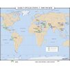 Universal Map World History Wall Maps - Early Civilizations