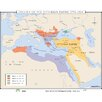 Universal Map World History Wall Maps - Decline of Ottoman Empire