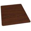 ES Robbins Corporation Wood Veneer Style Hard Floor Straight Edge Chair Mat