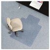 ES Robbins Corporation AnchorBar Task Series Low Pile Carpet Straight Edge Chair Mat
