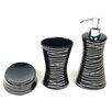 Gedy by Nameeks Diva 3 Piece Bathroom Accessory Set