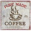 Alterton Furniture Pure Made Coffee Typography