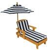 KidKraft Liegestuhl Mit Sonnenschirm