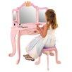 KidKraft Schminktisch-Set Princess mit Spiegel