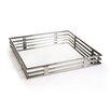 Zodax Pipe Design Glass Square Tray
