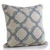 Zodax Alexandria Embroidered Cotton Throw Pillow