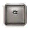 "Julien ProInox 18"" x 18"" Undermount Single Bowl Kitchen Sink"