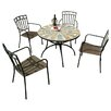 Europa Leisure Alicante 4 Seater Dining Set