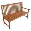 Europa Leisure 2-Sitzer Gartenbank Hamina aus Holz