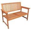 Europa Leisure Wooden Bench III