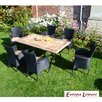 Europa Leisure Monte Carlo 6 Seater Dining Set with Cushions