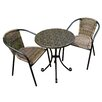Summer Terrace 3-tlg. Bistro-Set Fleuretta