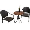 Europa Leisure Dalarna 2 Seater Bistro Set