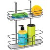 Lynk® Over Cabinet Door Organizer - Double Shelf - w/Molded Tray