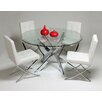 Pastel Furniture Aria 5 Piece Dining Set
