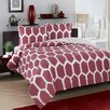 City Scene Honeycomb Duvet Cover Set