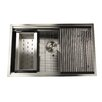 "Nantucket Sinks Pro Series 32"" x 20"" Rectangle Single Bowl Undermount Kitchen Sink"