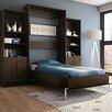 Bestar Pur 83 63 Full Storage Murphy Bed Kit Allmodern
