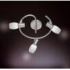Wofi LED-Deckenleuchte 3-flammig Colo