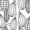 "Marimekko Marimekko II 33' x 27"" Food Wallpaper"