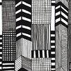 """Marimekko Marimekko II Ruutukaava 33' x 27.6"""" Geometric Wallpaper"""