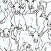 """Marimekko Marimekko II 33' x 27.6"""" Iltavilli Wallpaper"""