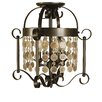 Framburg Naomi 4 Light Semi Flush Mount