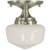 Framburg Taylor 1 Light Semi Flush Mount