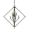 Framburg Diamond 8 Light Chandelier