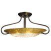 Framburg Pleiades 3 Light Semi Flush Mount