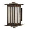Arroyo Craftsman Himeji 1 Light Outdoor Wall Lantern