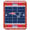Northwest Co. NFL Patriots Field Baby Throw