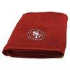 Northwest Co. NFL 49ers Appliqué Beach Towel