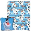 Northwest Co. Frozen All About Olaf 2 Piece Fleece Throw and Pillow Set
