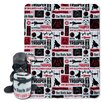 Northwest Co. Star Wars Classic Galactic Vader 2 Piece Fleece Throw and Hugger Pillow Set