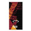 Northwest Co. NBA Heat Puzzle Beach Towel