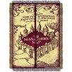 Northwest Co. Harry Potter Marauders Map Throw