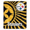 Northwest Co. NFL Pittsburgh Steelers Sherpa Strobe Throw