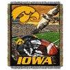 Northwest Co. NCAA Iowa Tapestry Throw