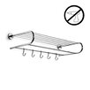WS Bath Collections Duemila Wall Mounted Self-Adhesive Towel Rack