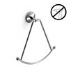 WS Bath Collections Noanta Wall Mounted Self-Adhesive Towel Ring